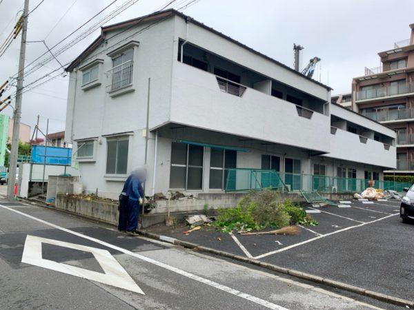 江戸川区南葛西 解体工事を行いました。