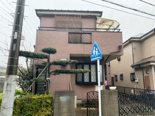 所沢市東所沢 解体工事を行いました。
