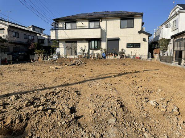さいたま市見沼区東大宮 地中埋設物撤去を行いました。