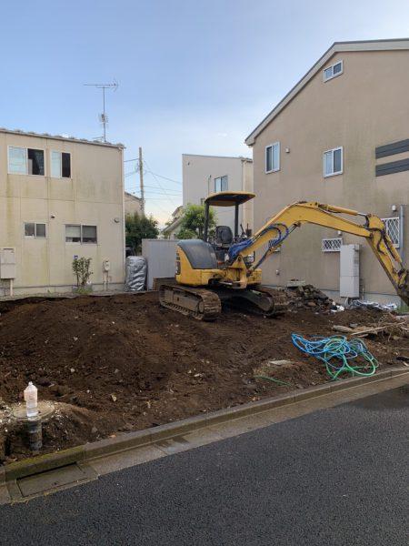練馬区大泉学園町 地中埋設物撤去を行いました。