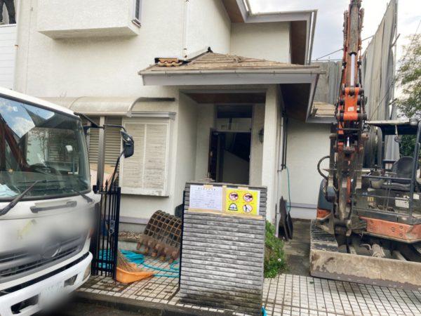 横浜市青葉区荏田北 解体工事を行いました。