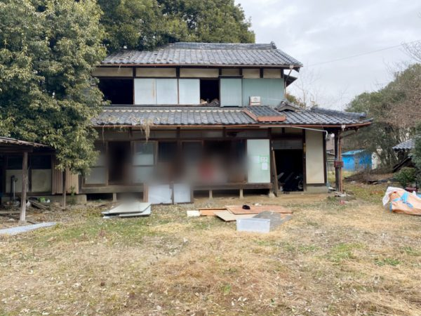 加須市久下 解体工事を行いました。
