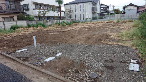 練馬区南大泉 万年塀撤去を行いました。