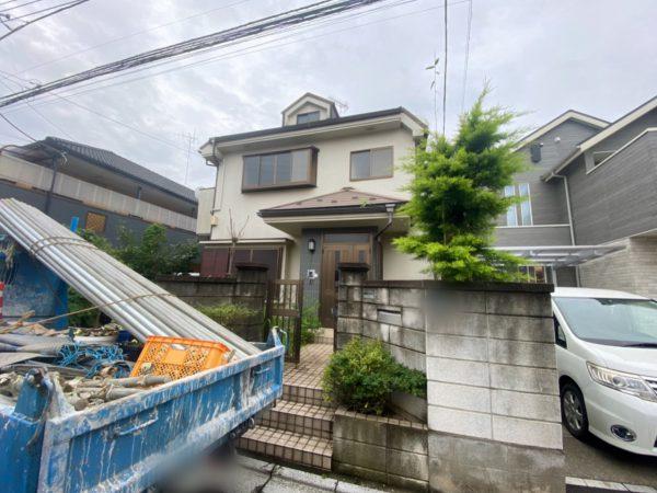 富士見市上沢 解体工事を行いました。