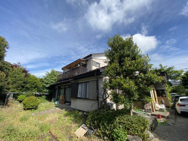 昭島市中神町 解体工事を行いました。