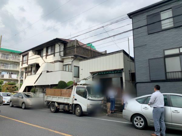 川口市青木 解体工事を行いました。