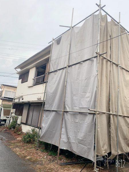 大和市南林間 解体工事を行いました。