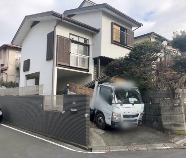 横浜市瀬谷区阿久和東 解体工事を行いました。