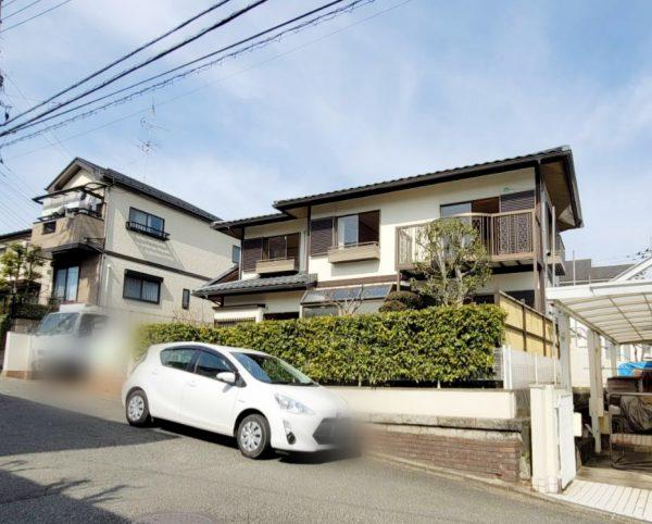 横浜市青葉区みたけ台 解体工事を行いました。