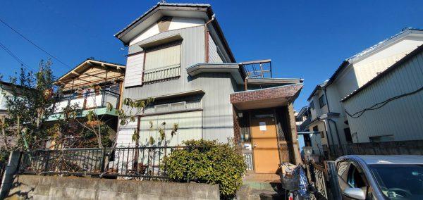 川口市戸塚東 解体工事を行いました。