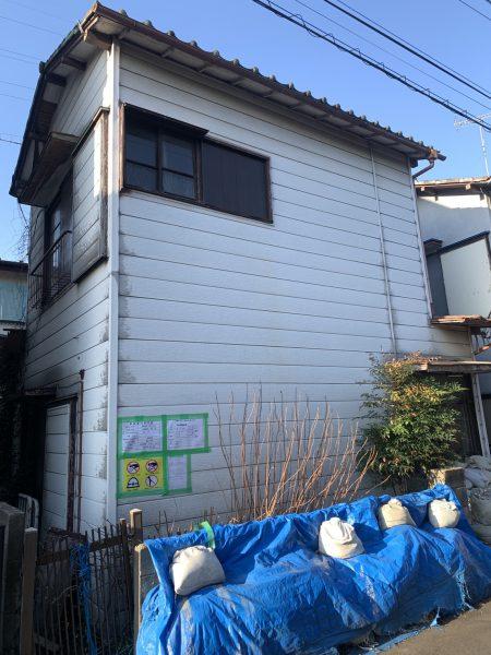 所沢市和ケ原 解体工事を行いました。