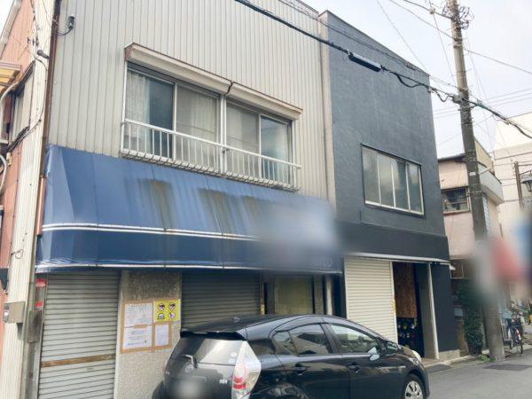 川崎市中原区中丸子 解体工事を行いました。